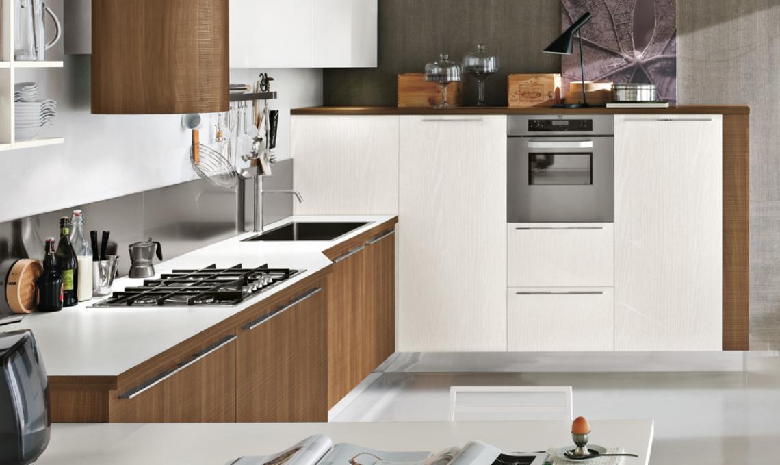 Remodelaciones de cocinas integrando la cocina a la sala comedor una manera de agrandar el - Cocinas modernas italianas ...