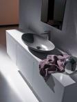 mueble con lavamano superficial