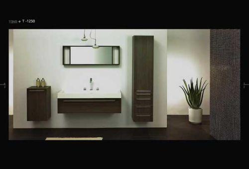 Muebles De Baño Estilo Minimalista:Disenos De Gabinetes Para Bano