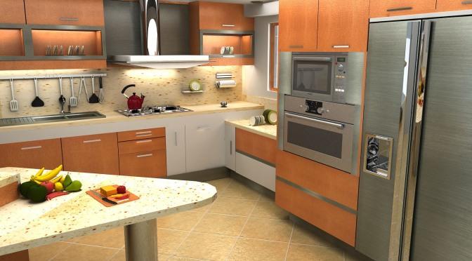 Remodelaciones de Cocinas. Integrando la Cocina a la Sala – Comedor. Una manera de agrandar el espacio y lograr más iluminación. Por: t-remodela