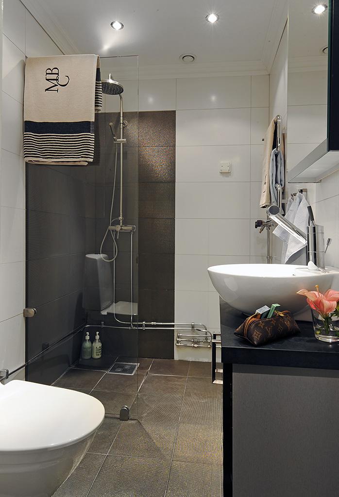 Dise o cocinas y ba os t remodela for Small bathroom minimalist design