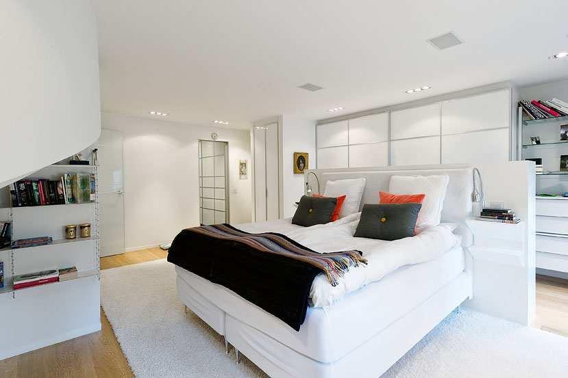 Baños Modernos Para Departamentos:Diseño de apartamentos pequeños, tipo estudio, modernos