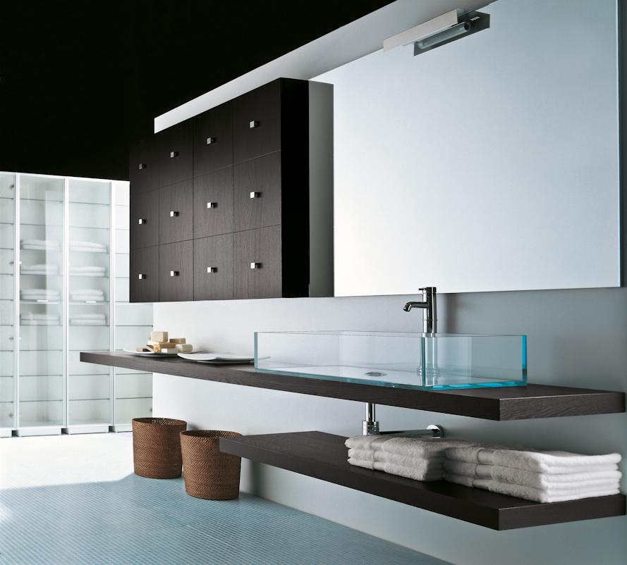 Baño Minimalista Pequeno:Diseño Cocinas y Baños