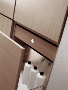 Detalle mueble de baño