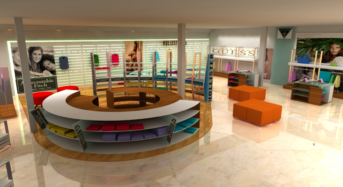 Local comercial t remodela for Planos de locales comerciales modernos