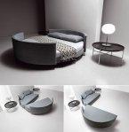 Versatilidad en este fabuloso Sofá-cama redondo