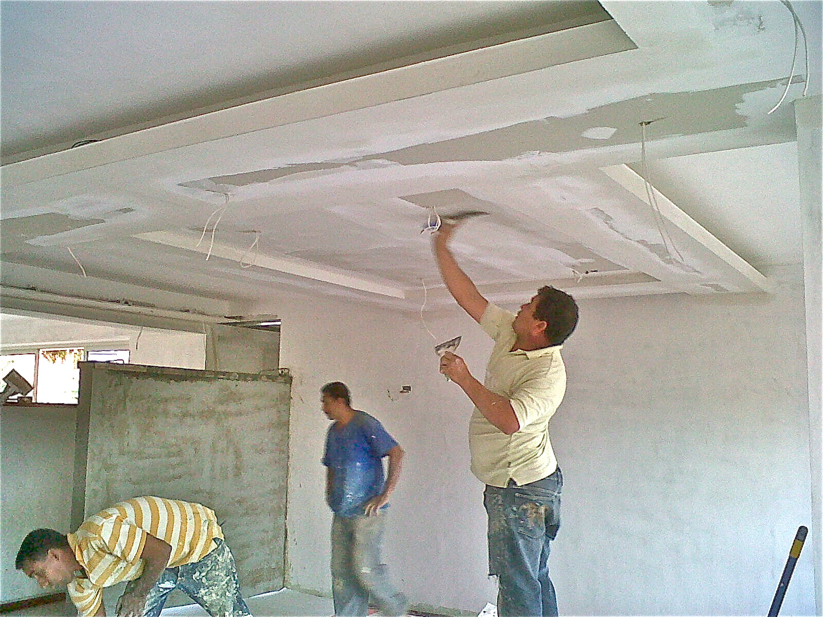 Drywall t remodela for Techos en drywall modernos