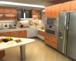 Cocina Moderna fabricada por t-remodela Caracas Venezuela