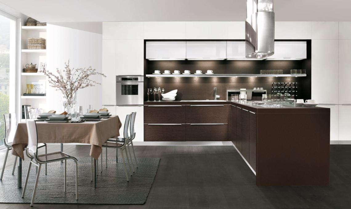 Modelo diamante t remodela for Cocinas italianas modernas