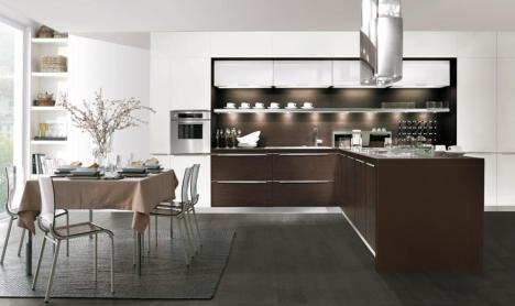 Cocina moderna práctica y funcional