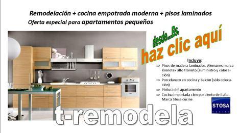Remodelación apartamentos en Caracas