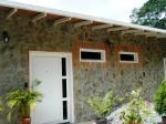 Casa techos madera en 3 niveles
