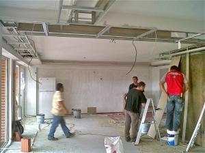 Remodela con Drywall Techos paredes